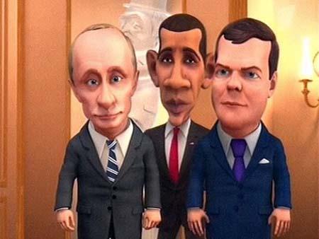 Мульт личности: Медведев, Путин, Обама (от 17.01.2010)Темы программы